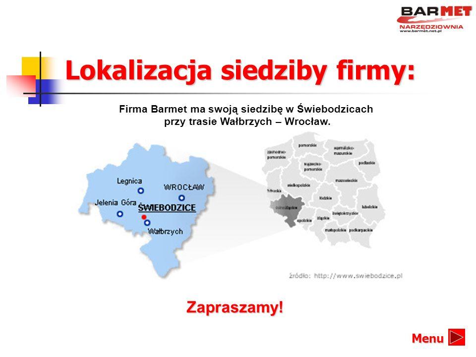 Lokalizacja siedziby firmy:
