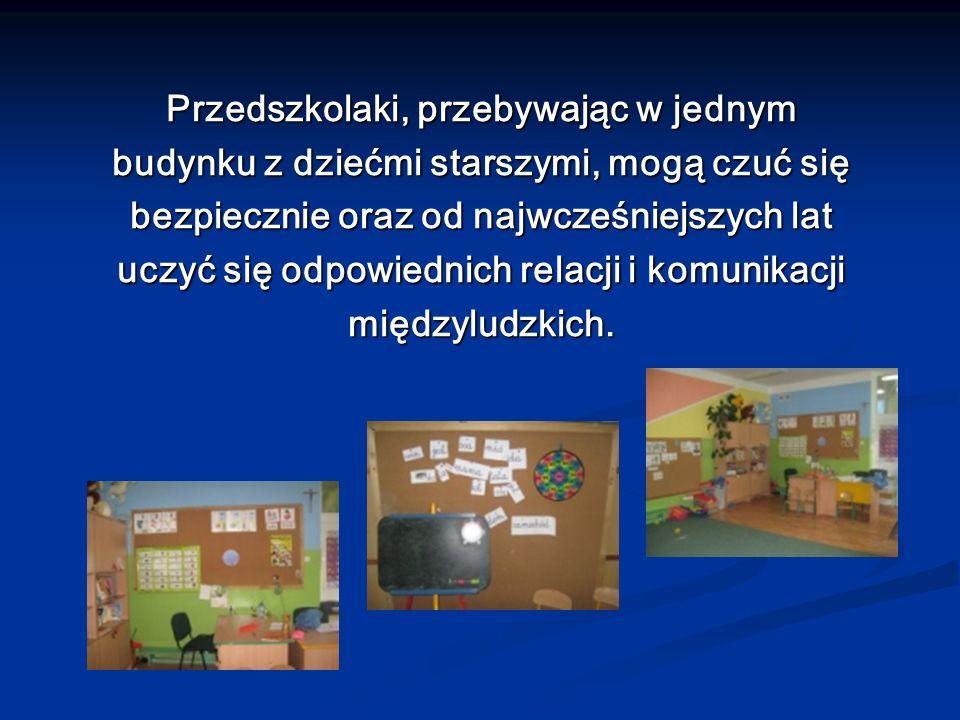 Przedszkolaki, przebywając w jednym