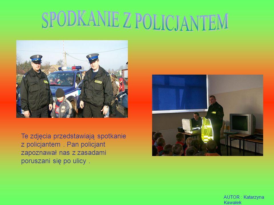 SPODKANIE Z POLICJANTEM