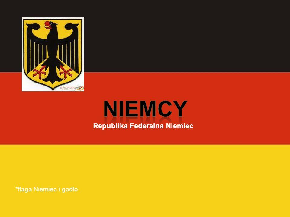Niemcy Republika Federalna Niemiec *flaga Niemiec i godło