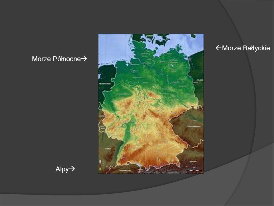 Morze Bałtyckie Morze Północne Alpy