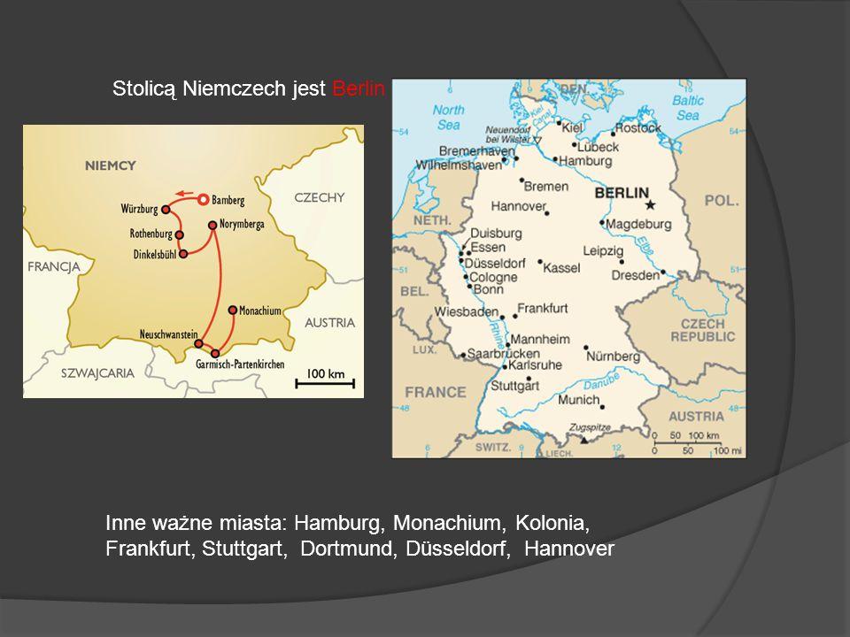 Stolicą Niemczech jest Berlin