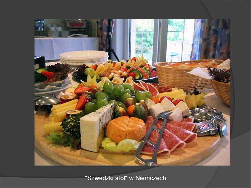 Szwedzki stół w Niemczech