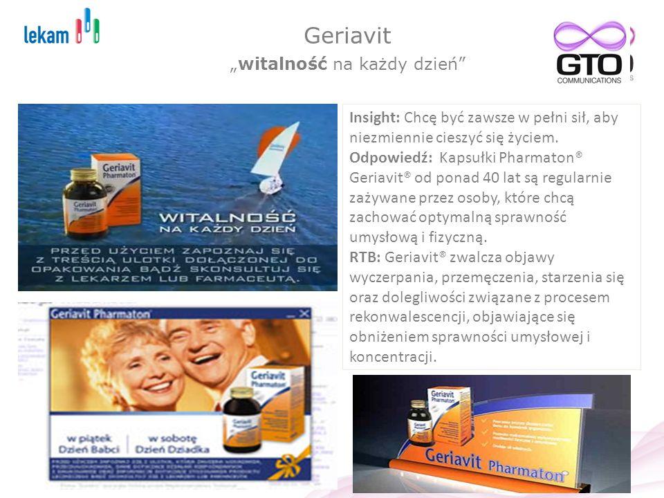 """Geriavit """"witalność na każdy dzień"""