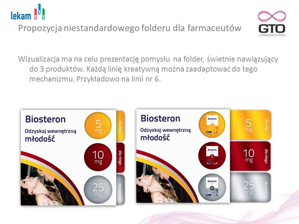 Propozycja niestandardowego folderu dla farmaceutów