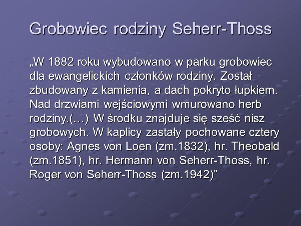 Grobowiec rodziny Seherr-Thoss
