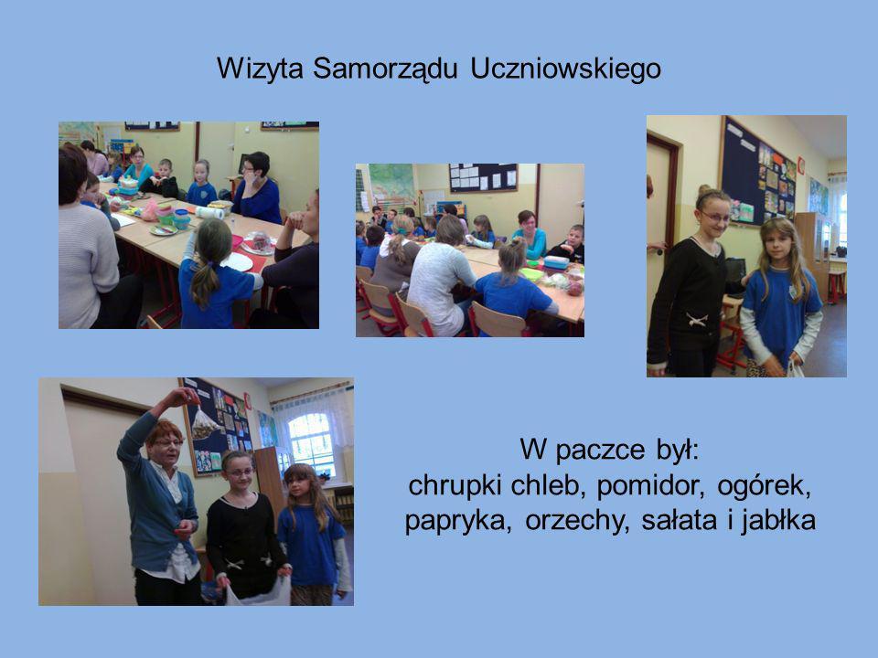 Wizyta Samorządu Uczniowskiego