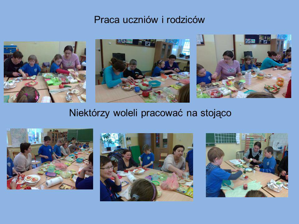 Praca uczniów i rodziców