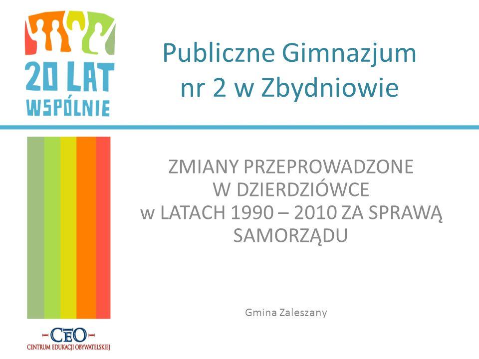 Publiczne Gimnazjum nr 2 w Zbydniowie