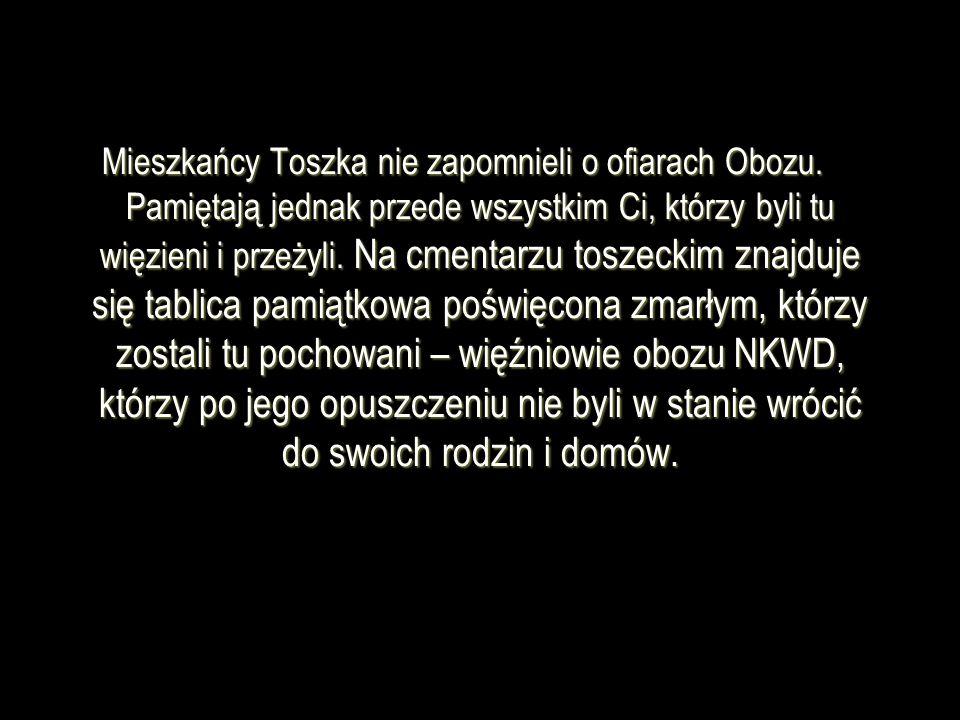 Mieszkańcy Toszka nie zapomnieli o ofiarach Obozu