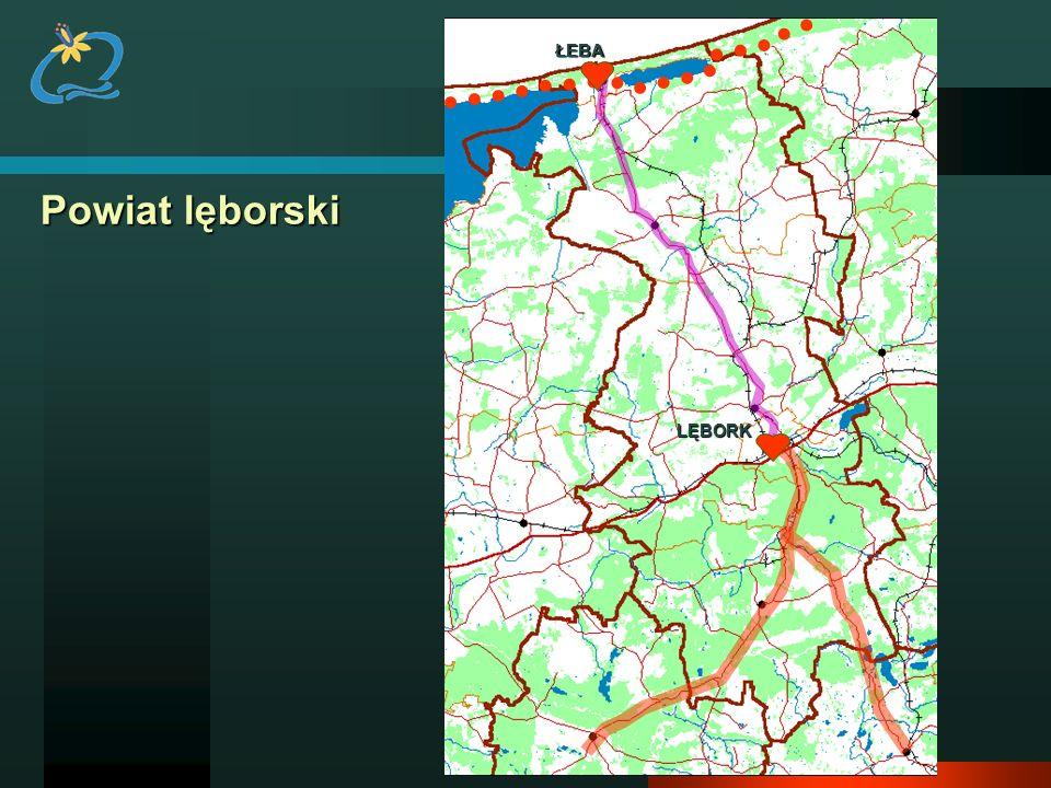 ŁEBA Powiat lęborski LĘBORK