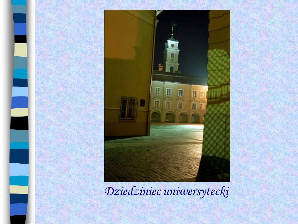 Dziedziniec uniwersytecki