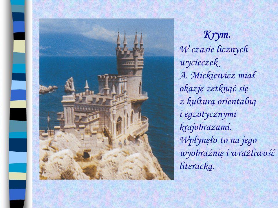 Krym. W czasie licznych wycieczek