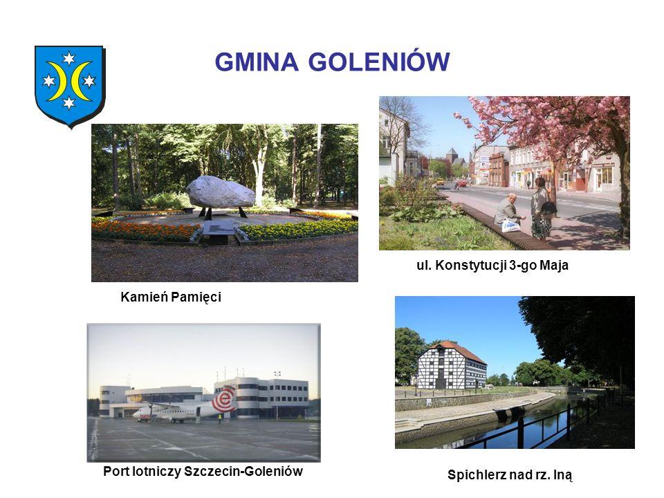 ul. Konstytucji 3-go Maja Port lotniczy Szczecin-Goleniów