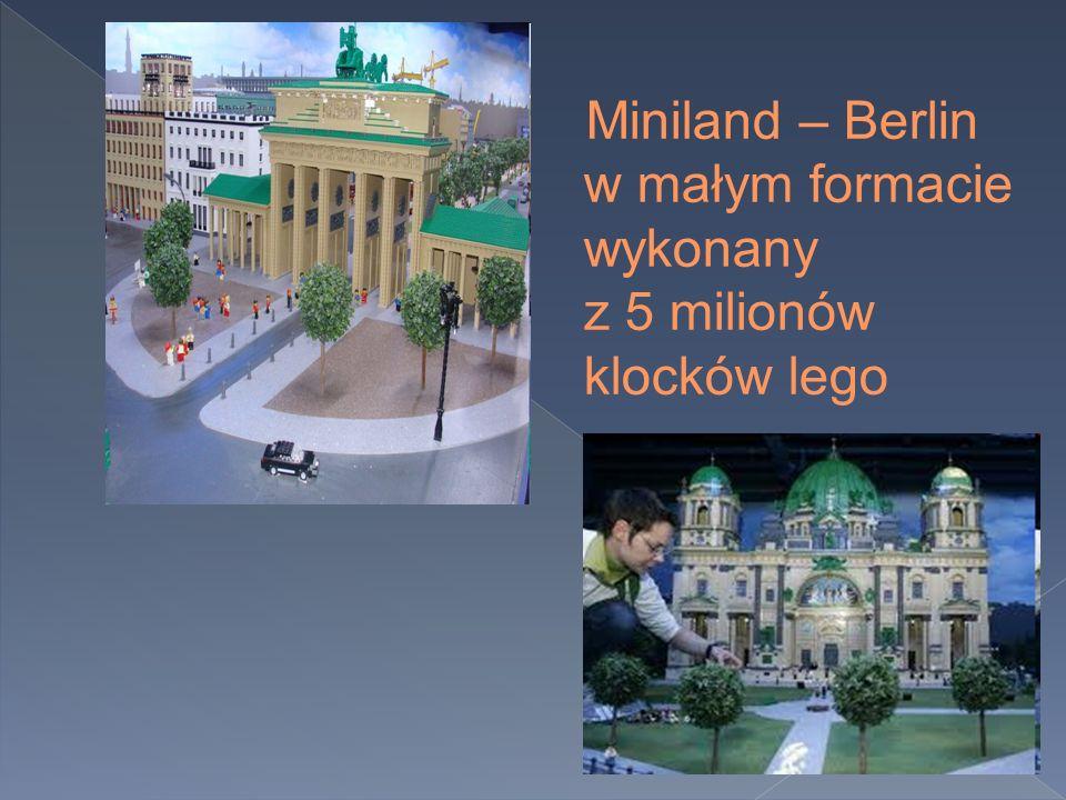 Miniland – Berlin w małym formacie wykonany z 5 milionów klocków lego