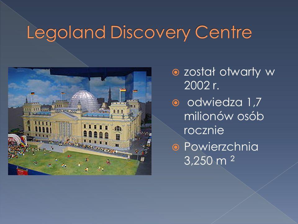 został otwarty w 2002 r. odwiedza 1,7 milionów osób rocznie Powierzchnia 3,250 m 2