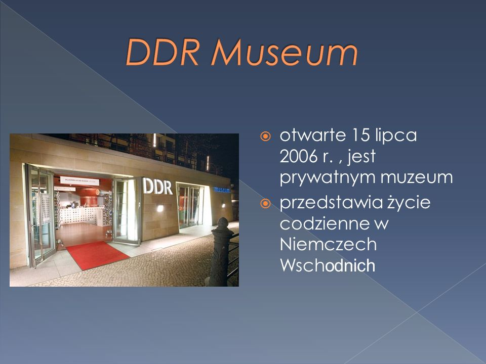 otwarte 15 lipca 2006 r. , jest prywatnym muzeum