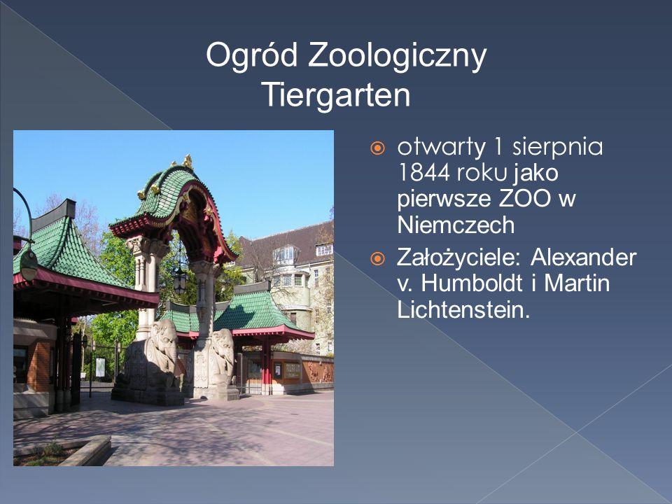 Ogród Zoologiczny Tiergarten