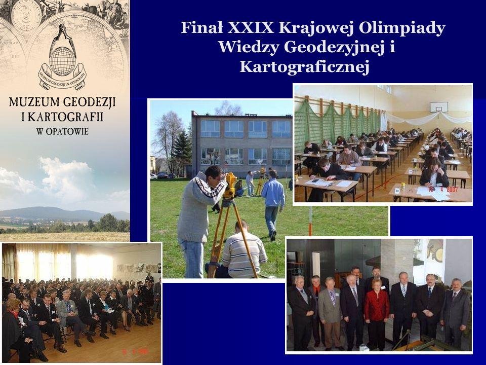 Finał XXIX Krajowej Olimpiady Wiedzy Geodezyjnej i Kartograficznej