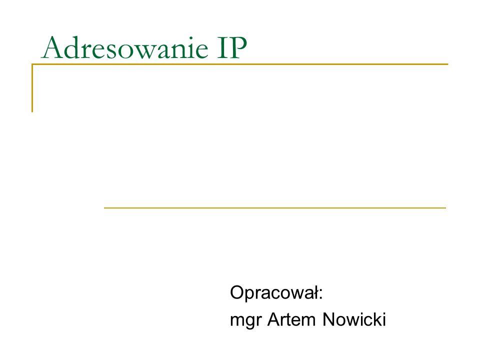 Opracował: mgr Artem Nowicki