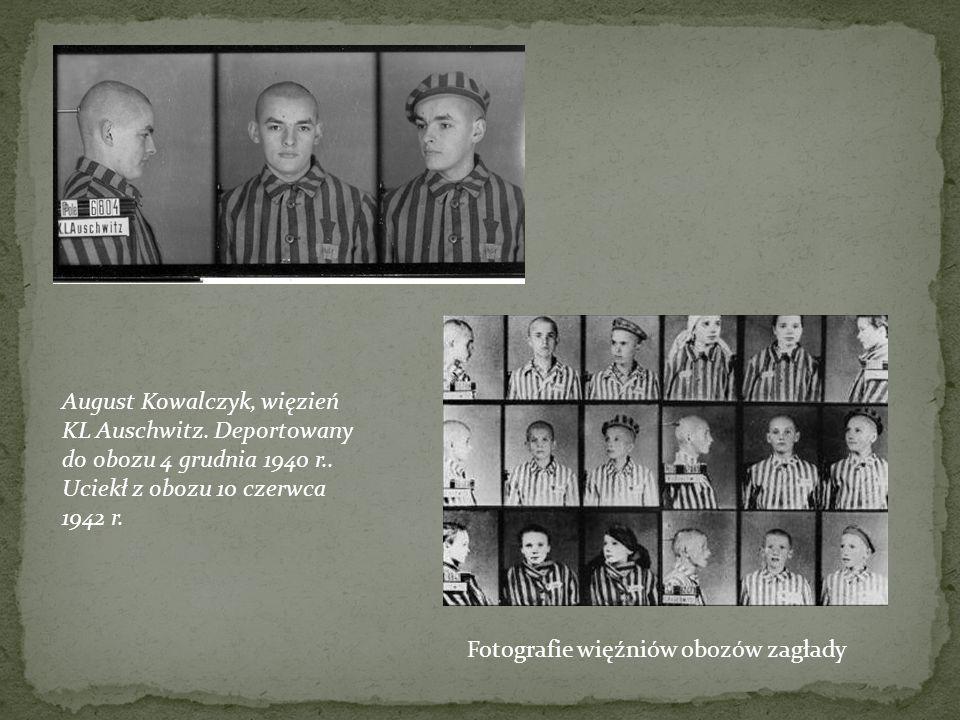 August Kowalczyk, więzień KL Auschwitz