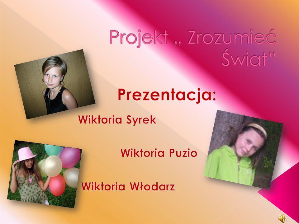 """Projekt """" Zrozumieć Świat"""