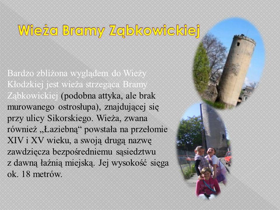 Wieża Bramy Ząbkowickiej