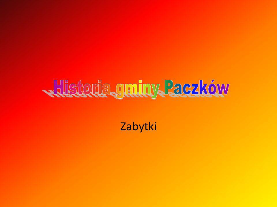Historia gminy Paczków