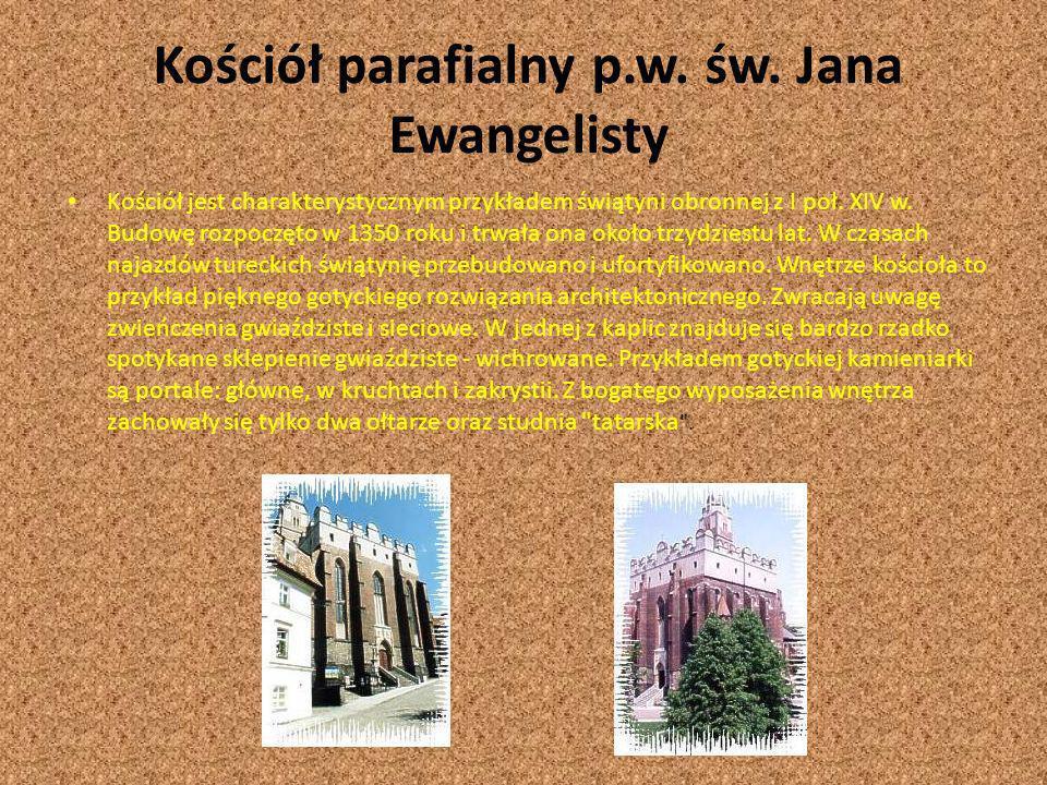 Kościół parafialny p.w. św. Jana Ewangelisty