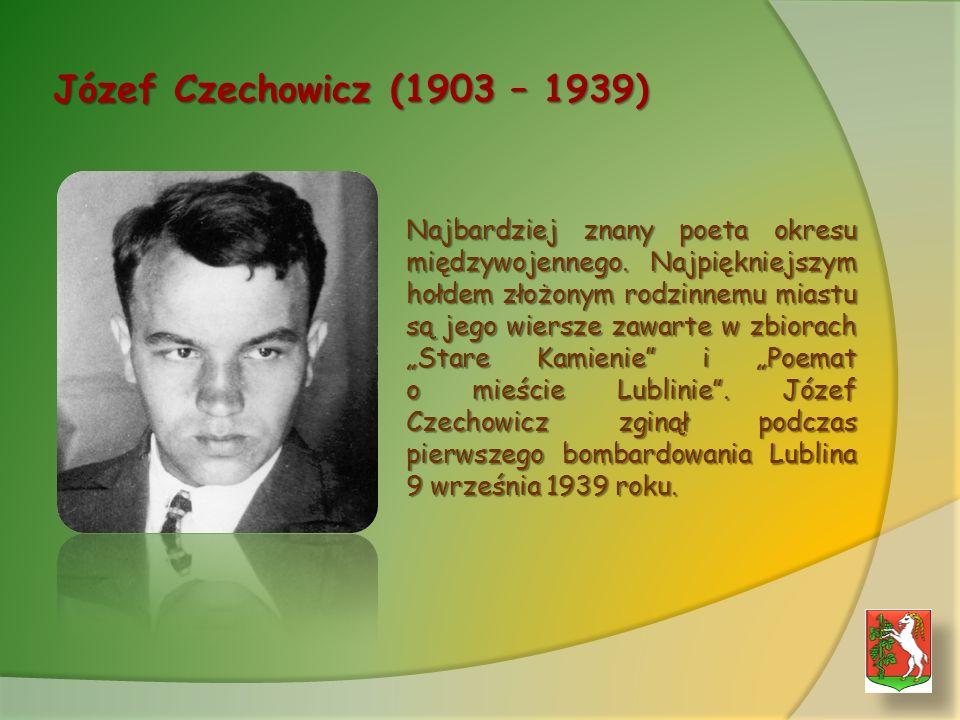 Józef Czechowicz (1903 – 1939)