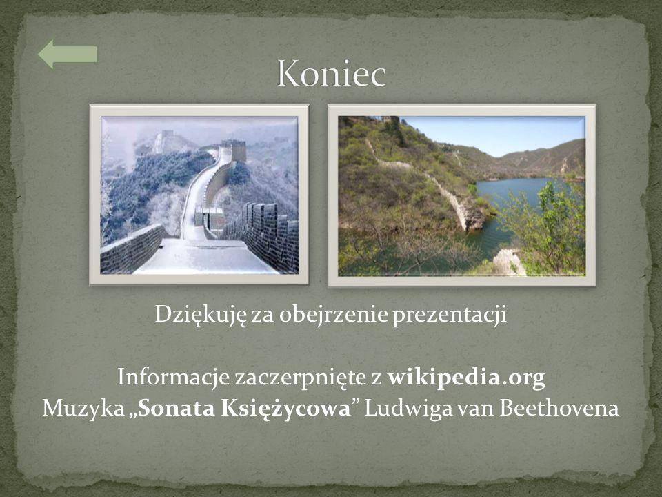 """Koniec Dziękuję za obejrzenie prezentacji Informacje zaczerpnięte z wikipedia.org Muzyka """"Sonata Księżycowa Ludwiga van Beethovena"""