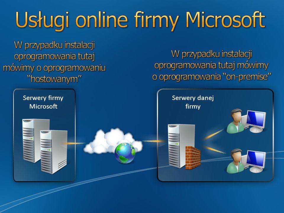 Usługi online firmy Microsoft
