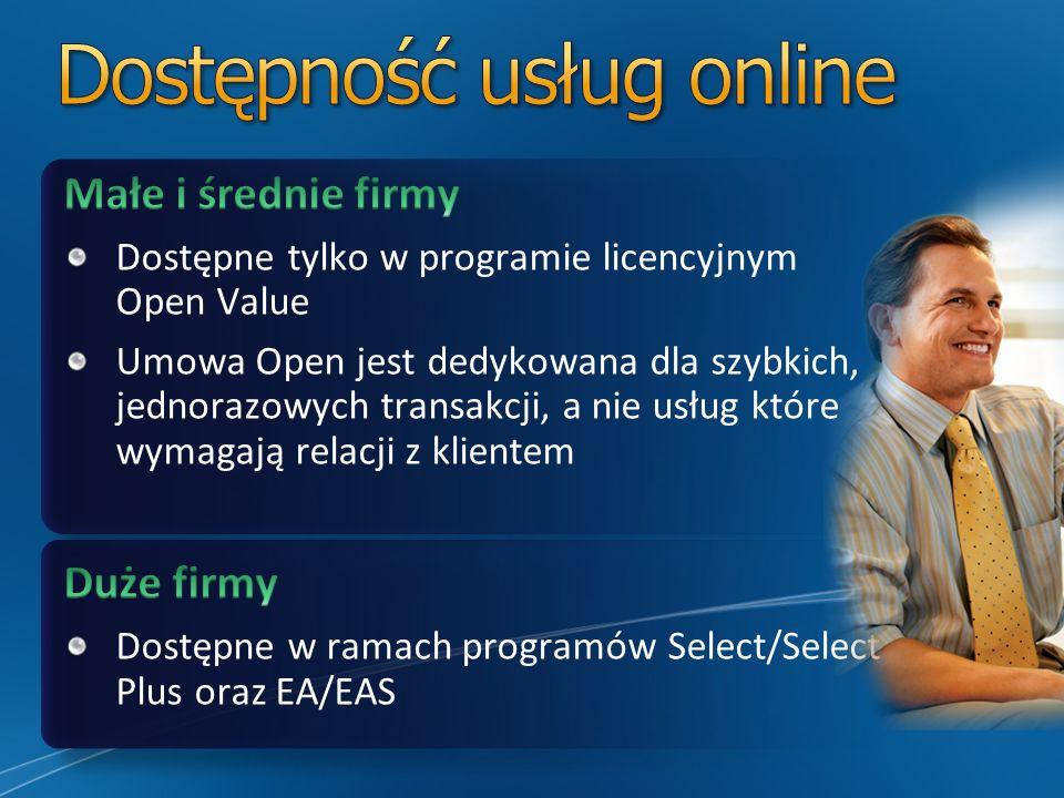 Dostępność usług online