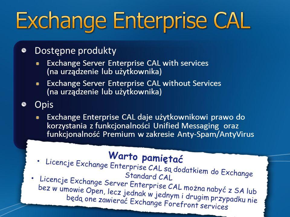 Exchange Enterprise CAL