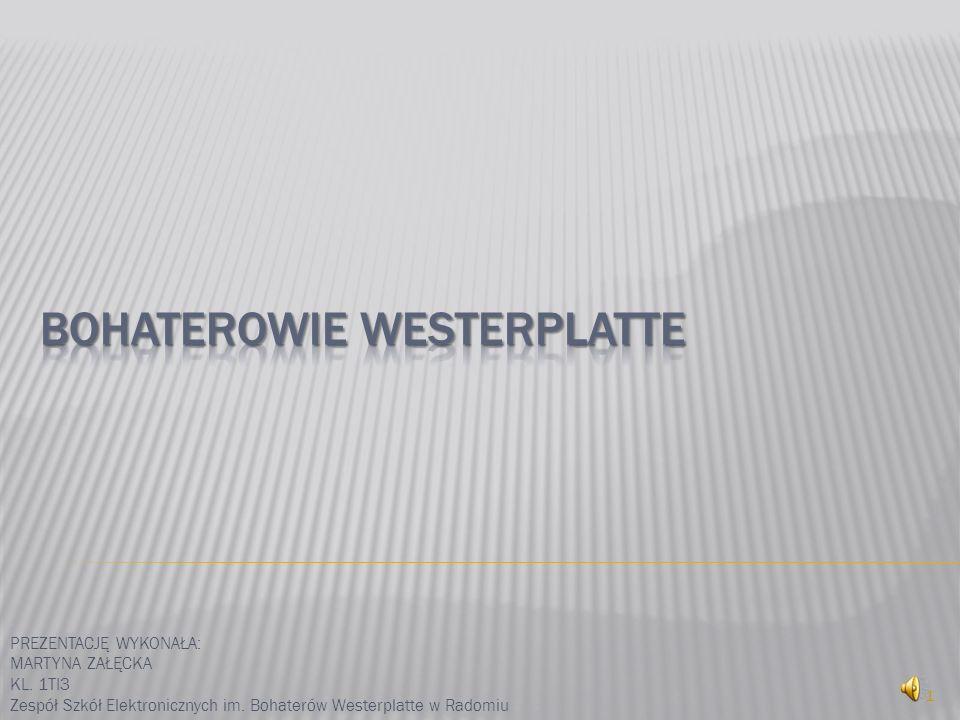 Bohaterowie Westerplatte