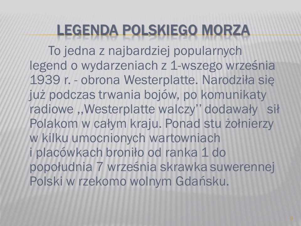 Legenda polskiego morza