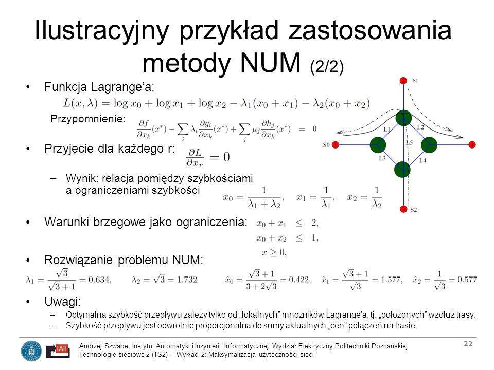 Ilustracyjny przykład zastosowania metody NUM (2/2)