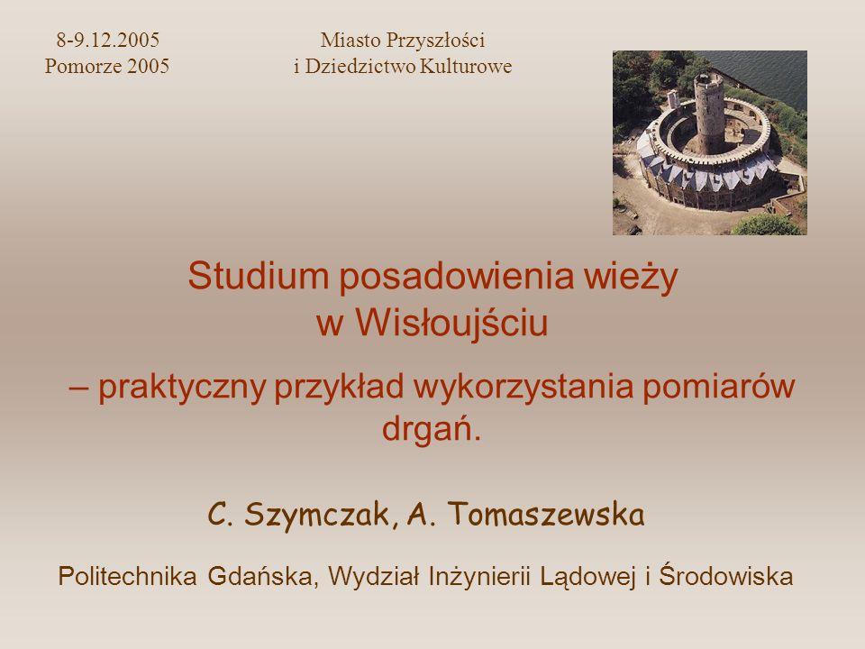 8-9.12.2005 Miasto Przyszłości Pomorze 2005 i Dziedzictwo Kulturowe
