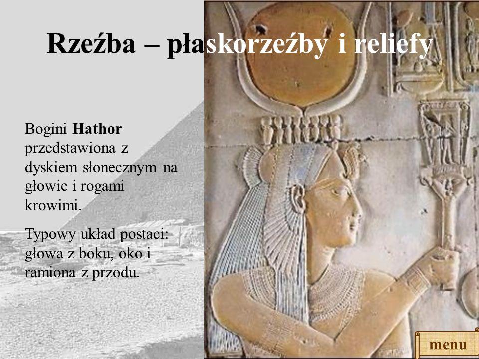 Rzeźba – płaskorzeźby i reliefy