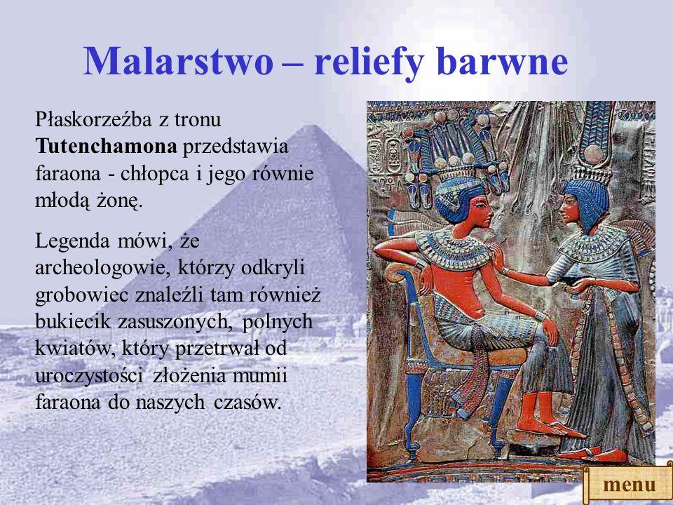 Malarstwo – reliefy barwne