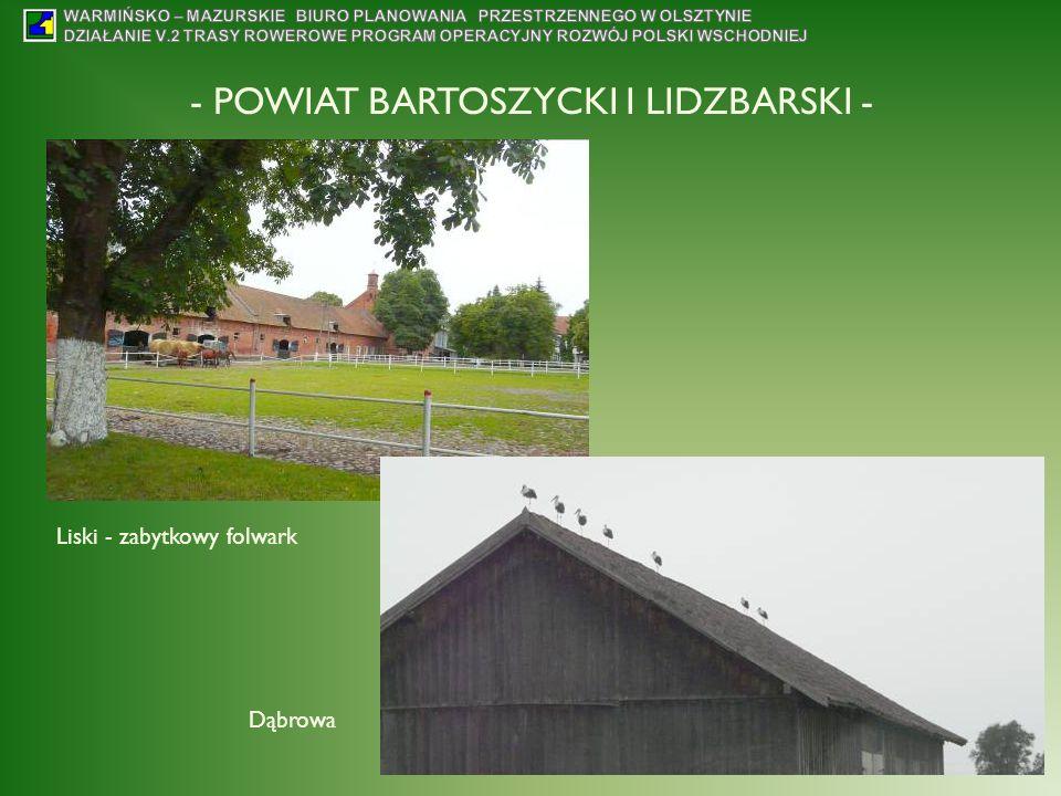 - POWIAT BARTOSZYCKI I LIDZBARSKI -