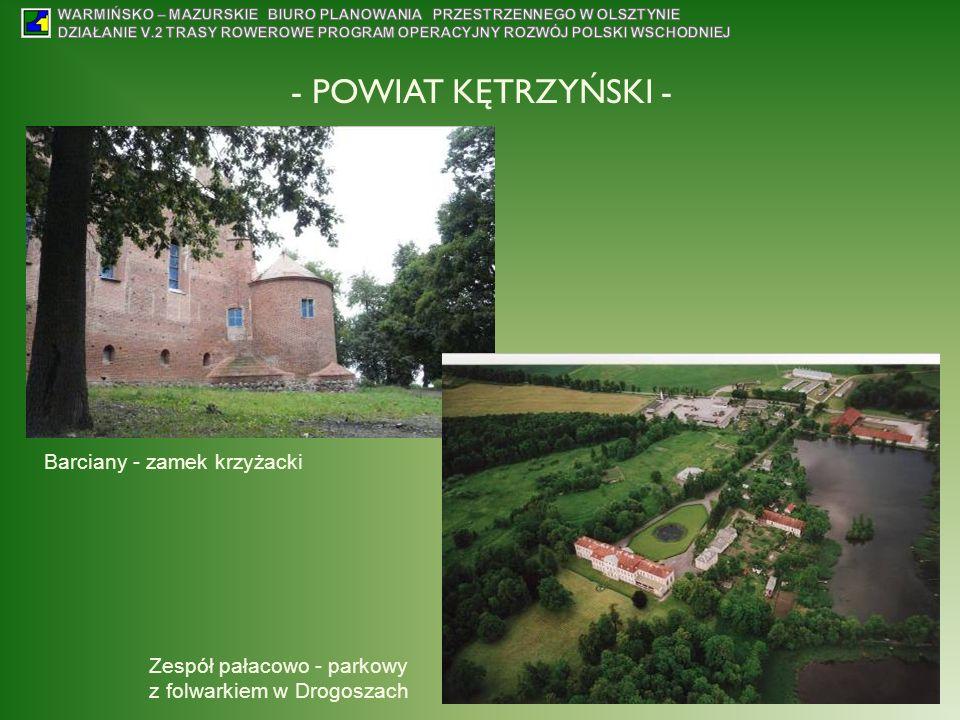 - POWIAT KĘTRZYŃSKI - Barciany - zamek krzyżacki
