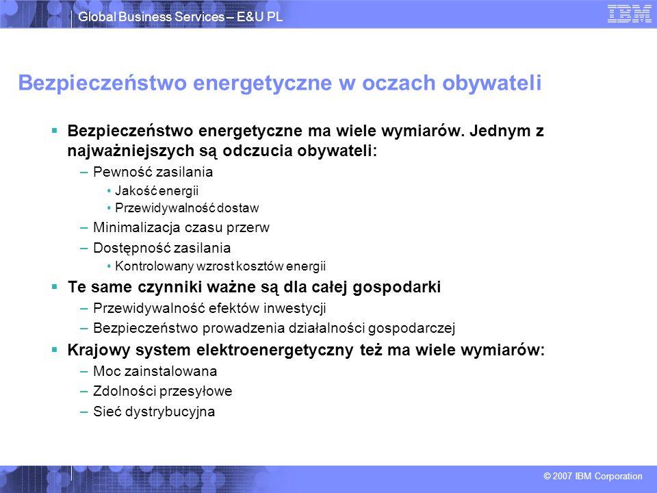 Bezpieczeństwo energetyczne w oczach obywateli