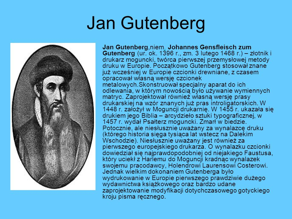 Jan Gutenberg