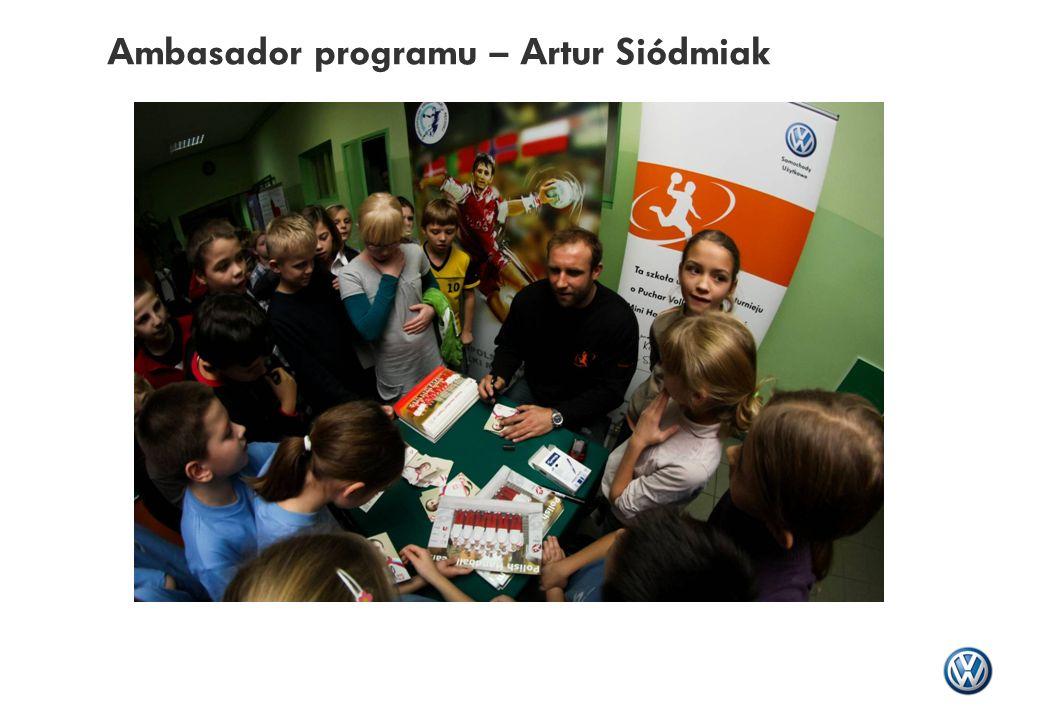 Ambasador programu – Artur Siódmiak