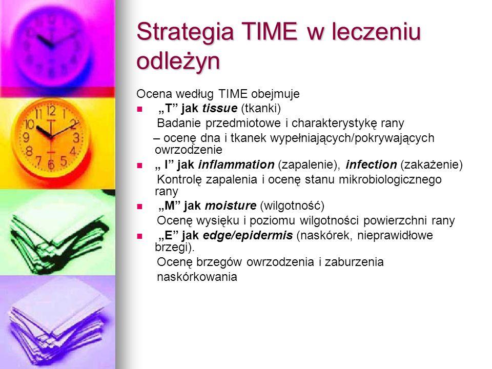 Strategia TIME w leczeniu odleżyn