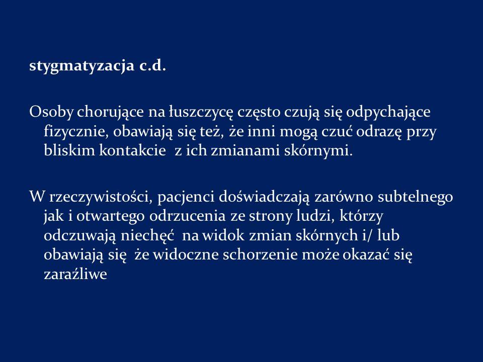 stygmatyzacja c.d.
