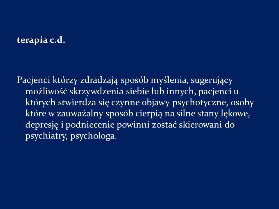 terapia c.d.