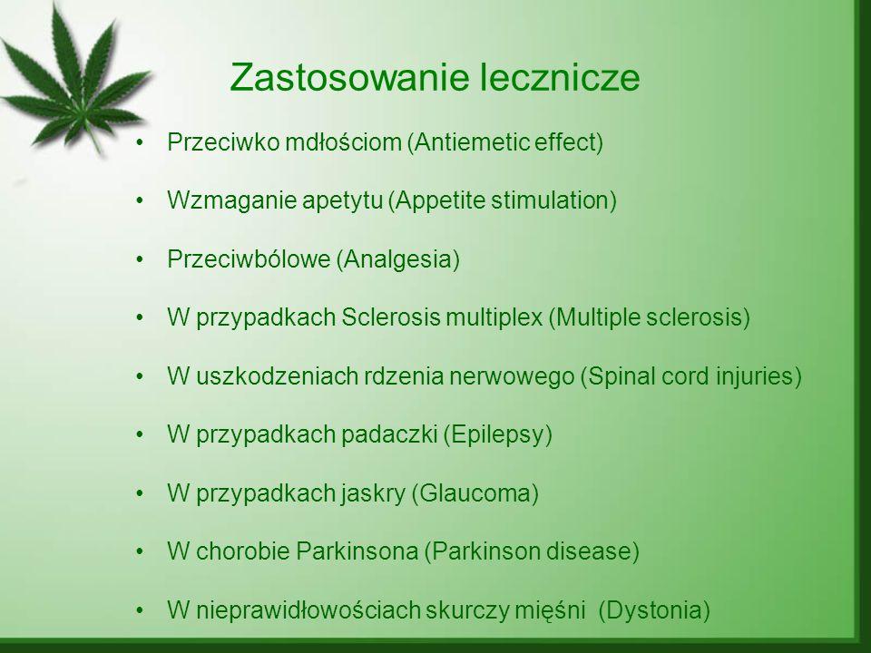 Zastosowanie lecznicze