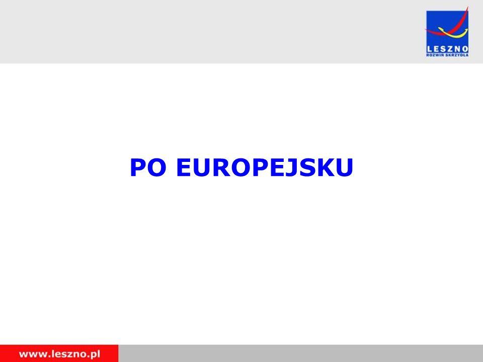 PO EUROPEJSKU